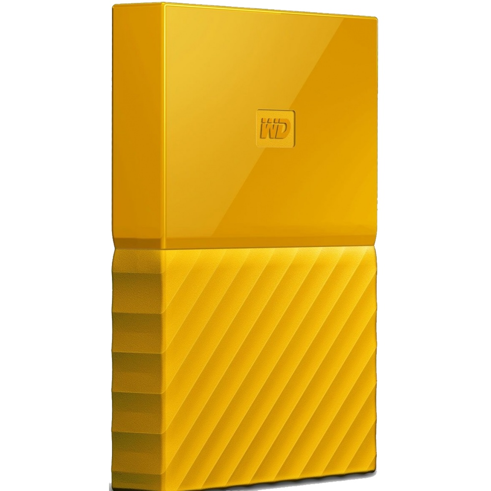 WD 2TB MY PASSPORT YELLOW