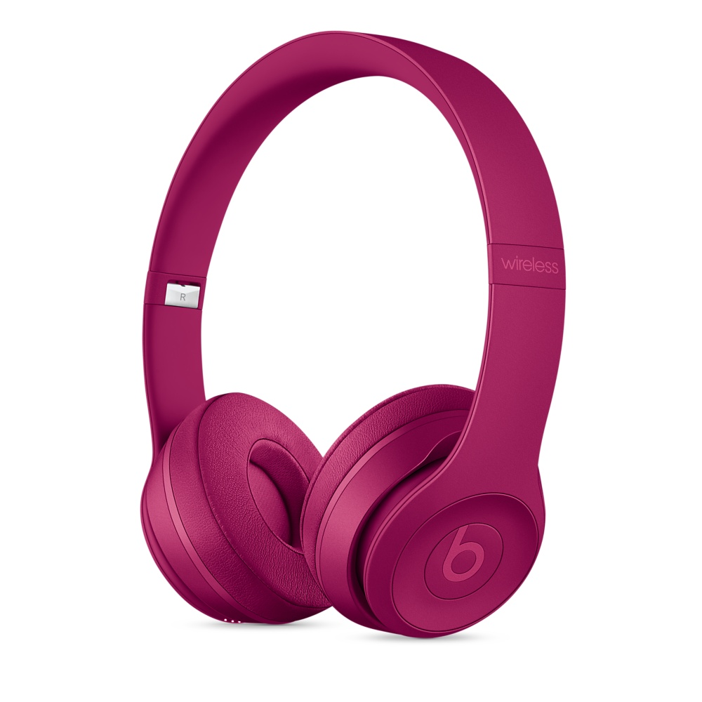 Beats Solo 3 On-Ear Neighborhood Brick Red