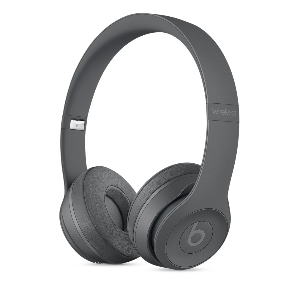 Beats Solo 3 On-Ear Neighborhood Asphalt Gray