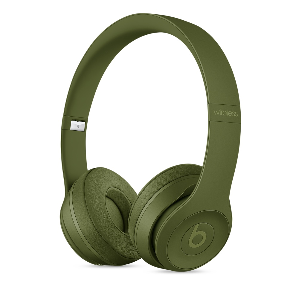 Beats Solo 3 On-Ear Neighborhood Turf Green