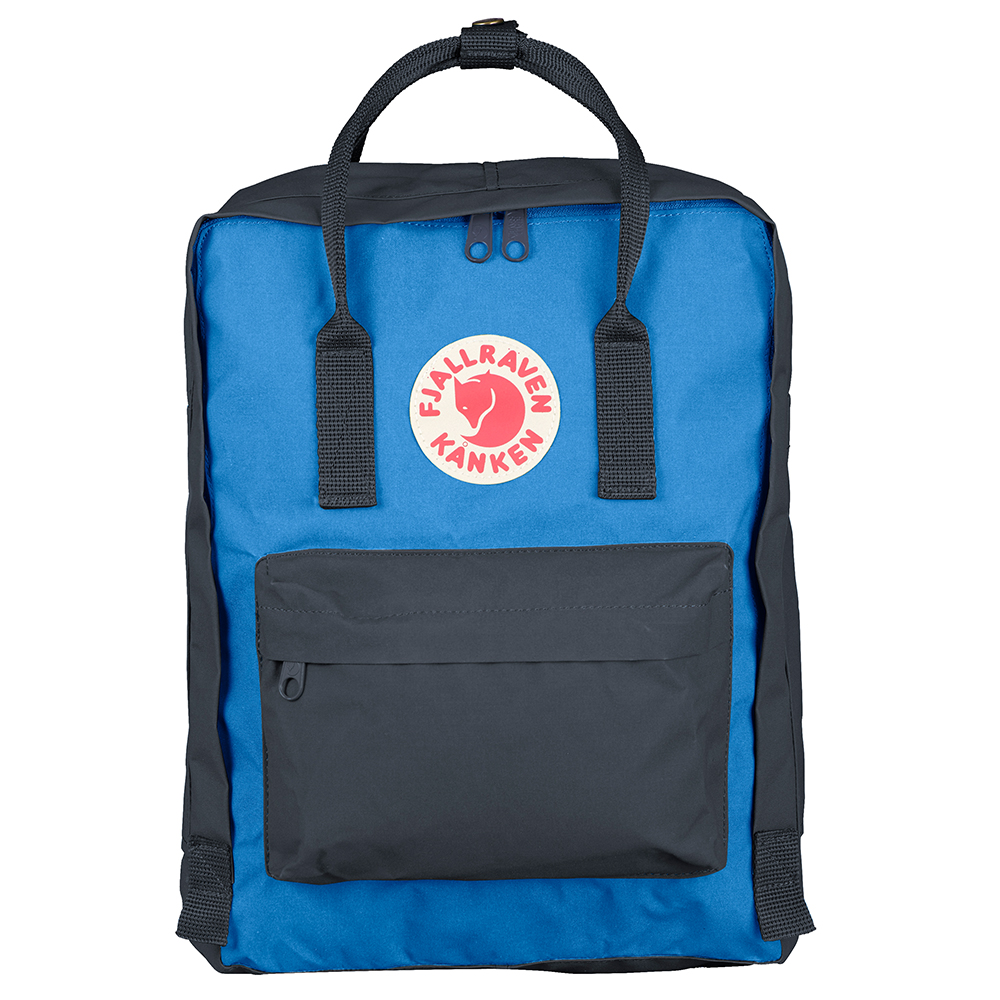 Fjallraven Kanken Graphite/UN Blue Backpack
