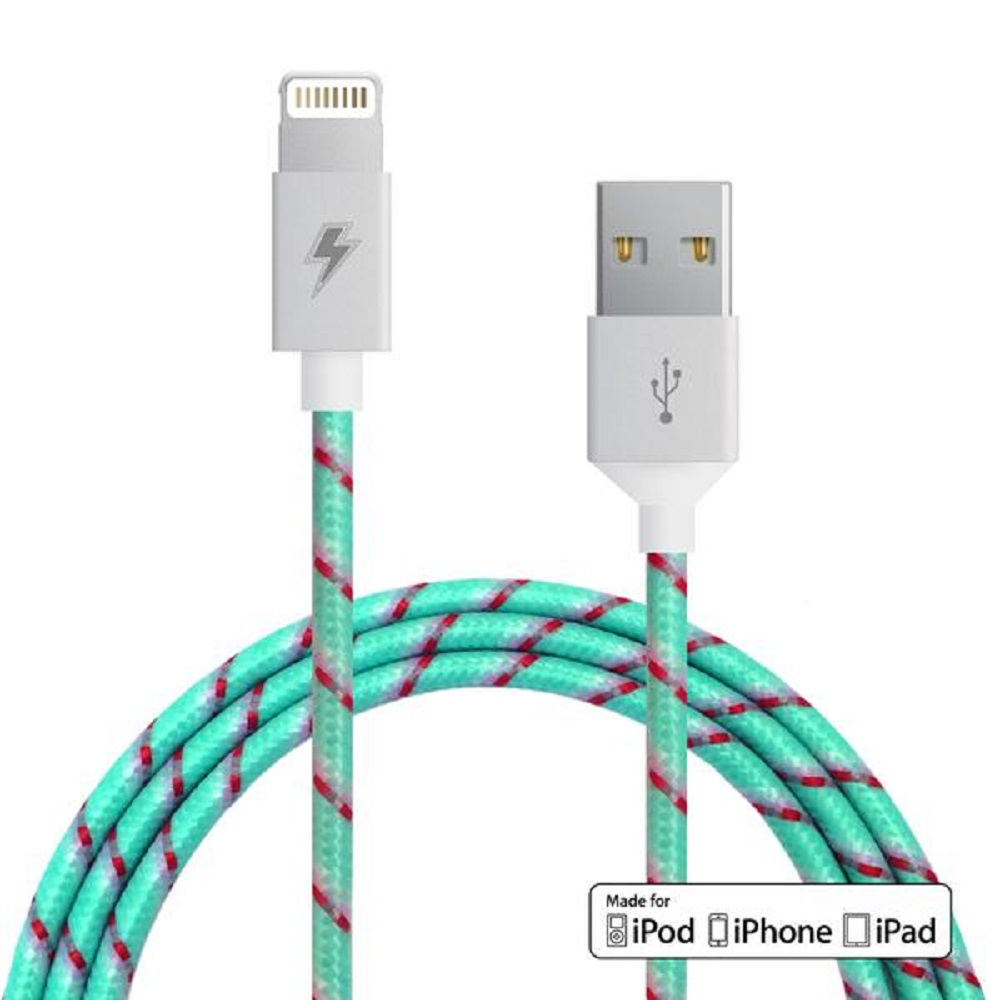 ChargeCords Lightning Cable Wintermint
