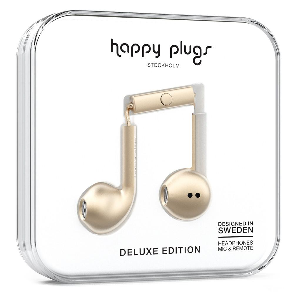Happy Plugs Earbuds Plus Champagne
