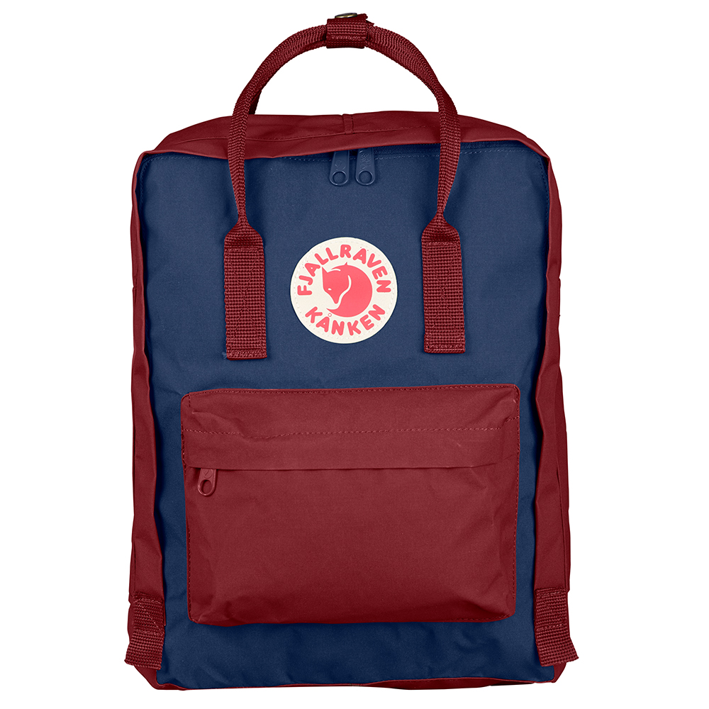 Fjallraven Kanken Royal Blue-Ox Red Backpack
