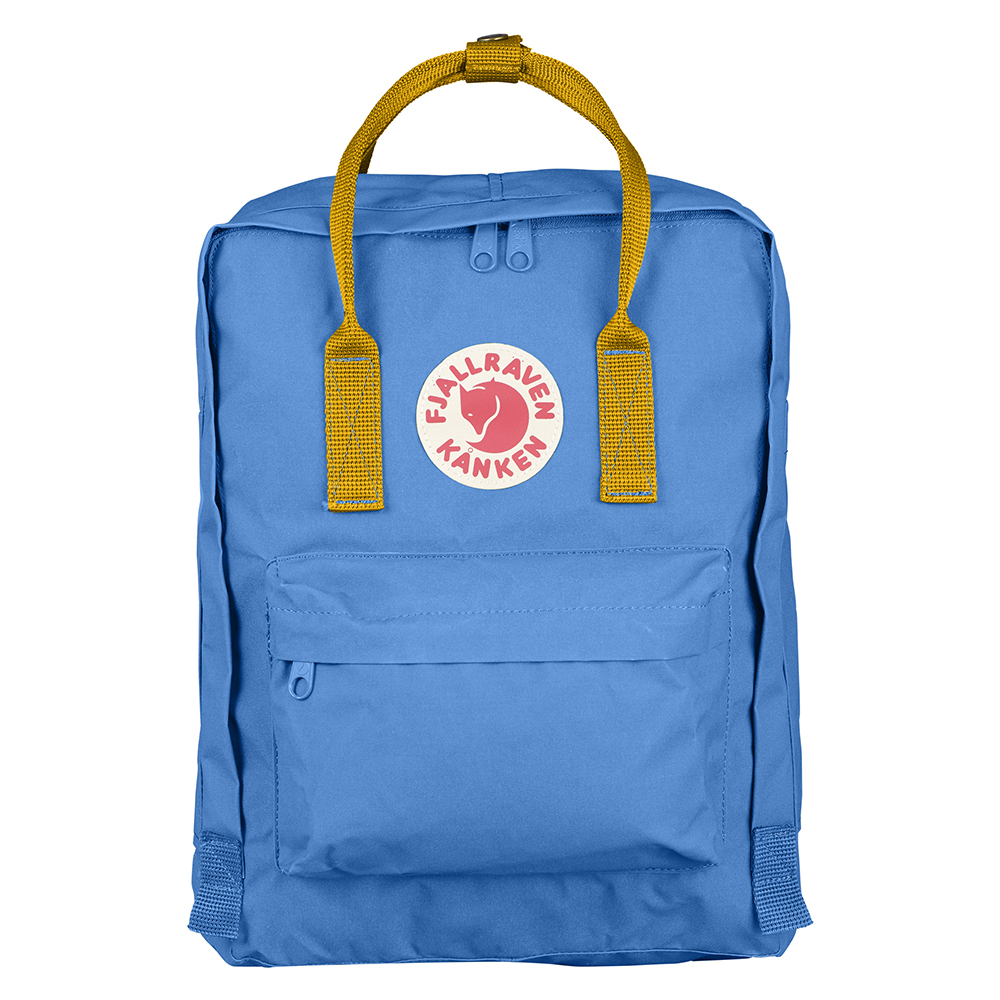 Fjallraven Kanken UN Blue-Warm Yellow Backpack