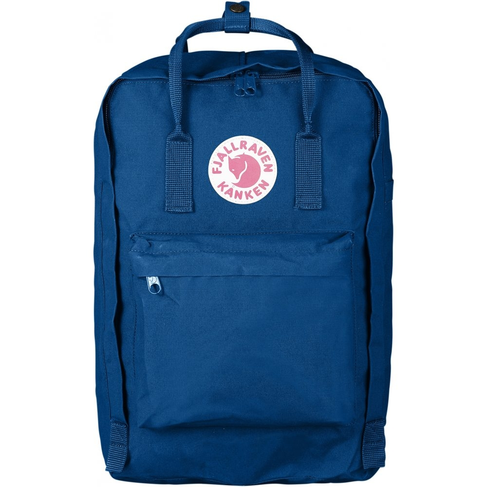 "Fjallraven Kanken 15"" Backpack Lake Blue"