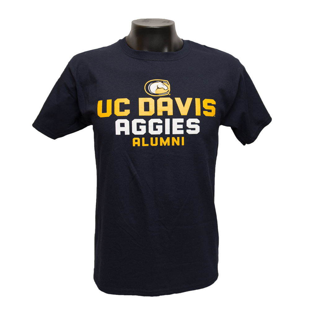 Champion® Athletic UC Davis Alumni T-Shirt Navy