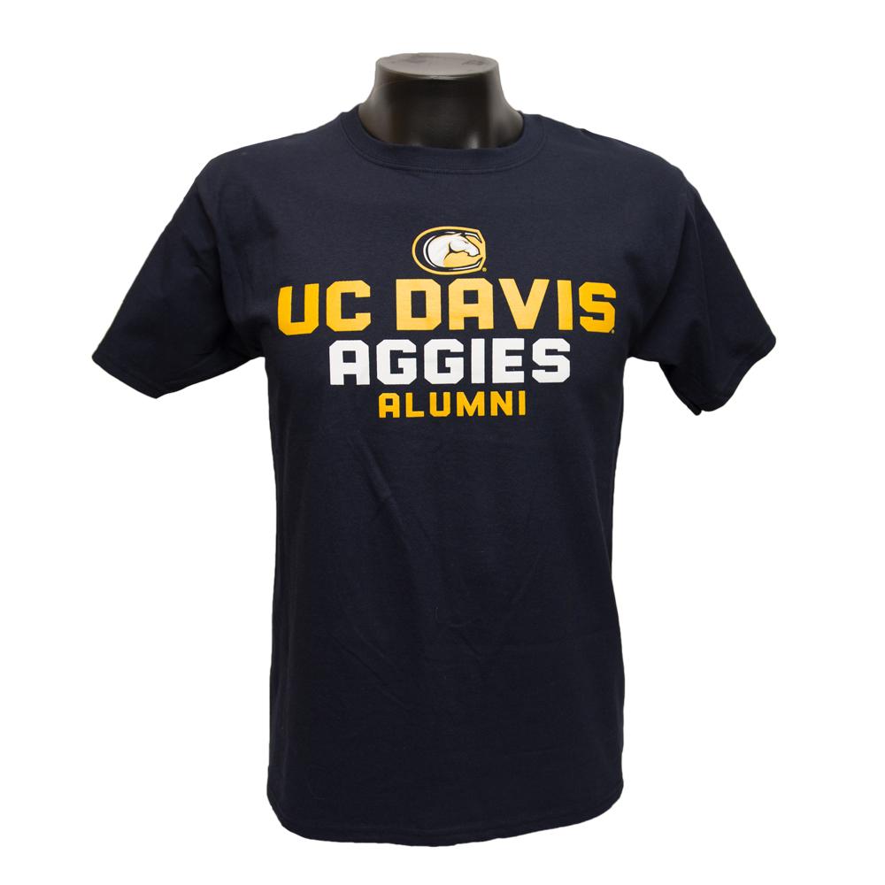 UC Davis T-Shirt Champion Alumni Navy