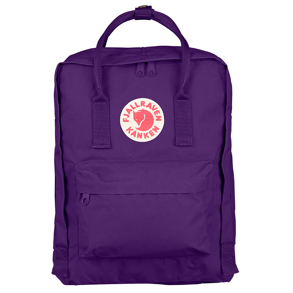 Fjallraven Kanken Purple Backpack