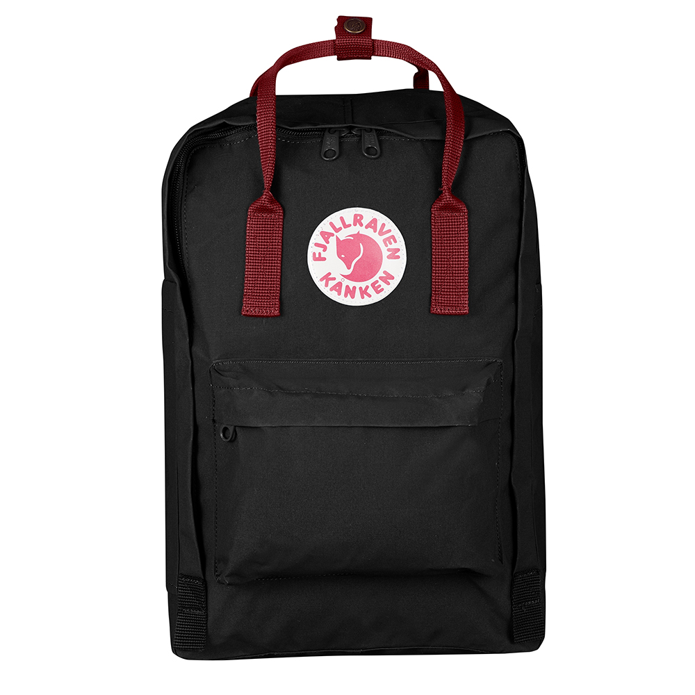 "Kanken LT 15"" Black/Ox Red Backpack"