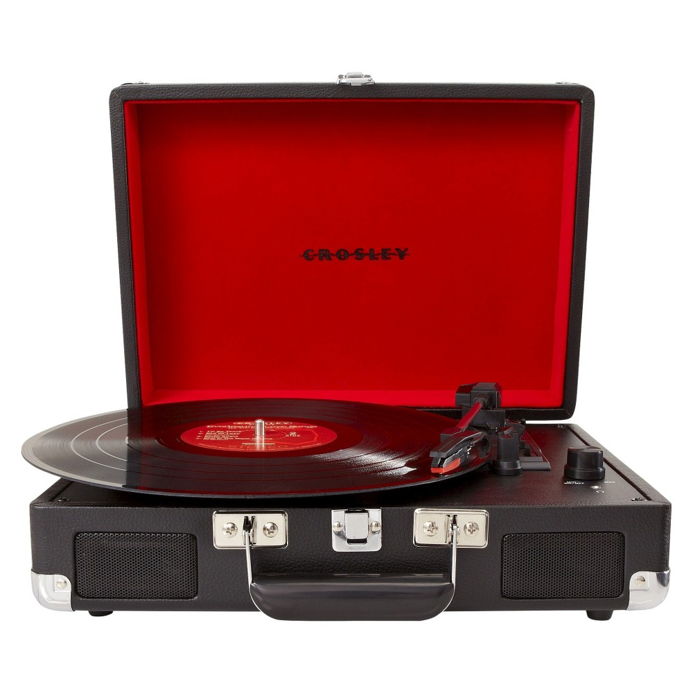 Crosley Cruiser Deluxe Turntable Black