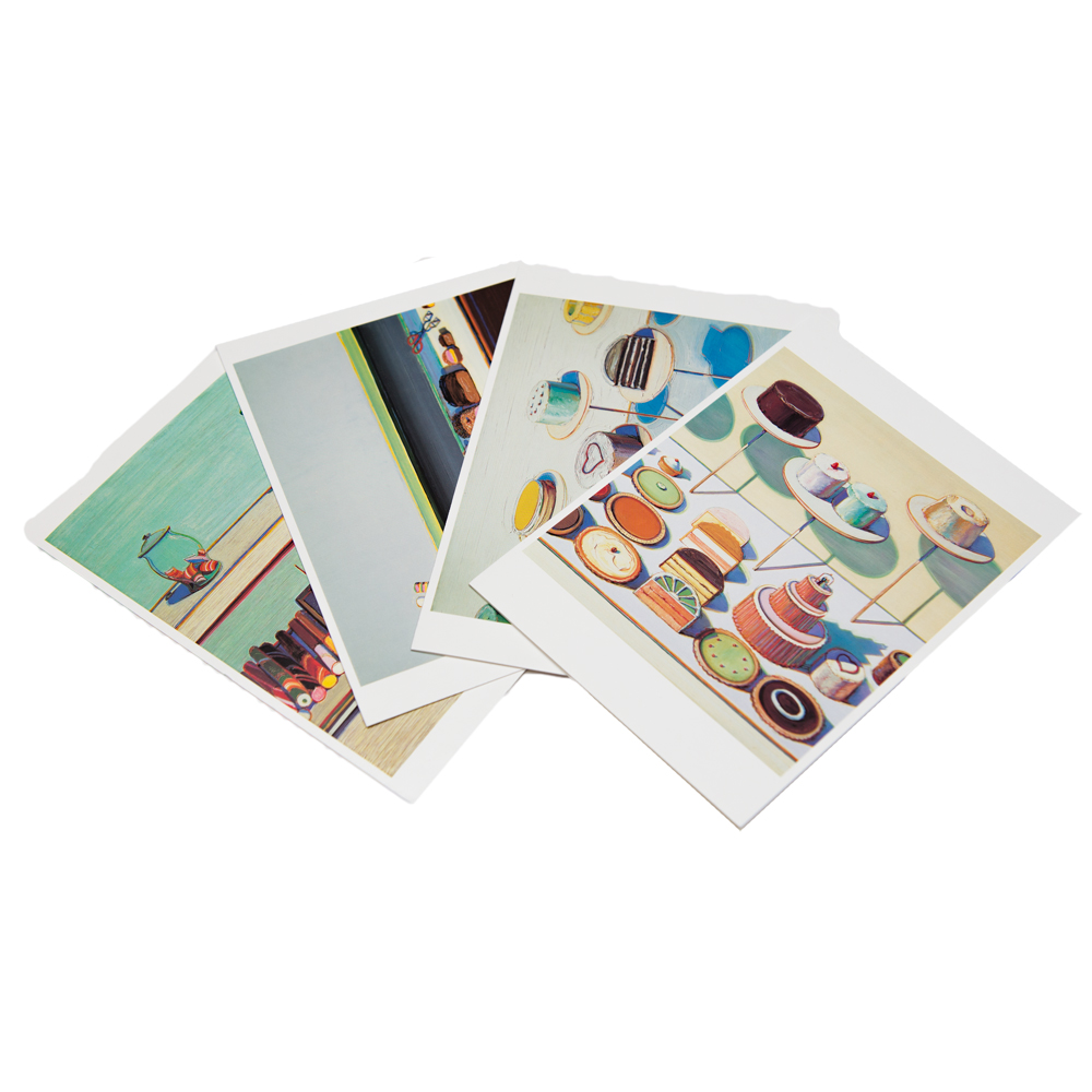 "Notecards ""Confections"" by Thiebaud"