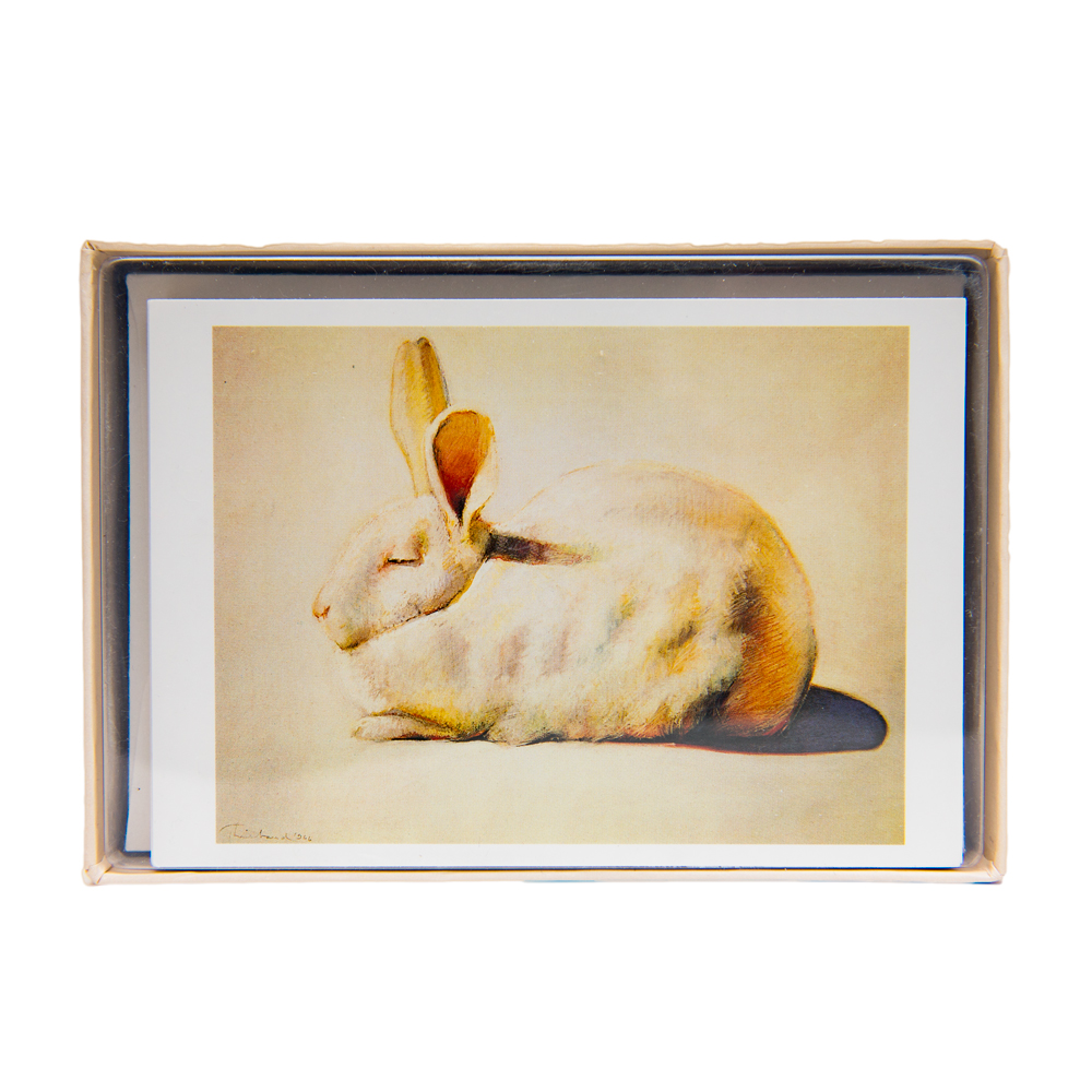 "Notecards ""Rabbit"" by Thiebaud"