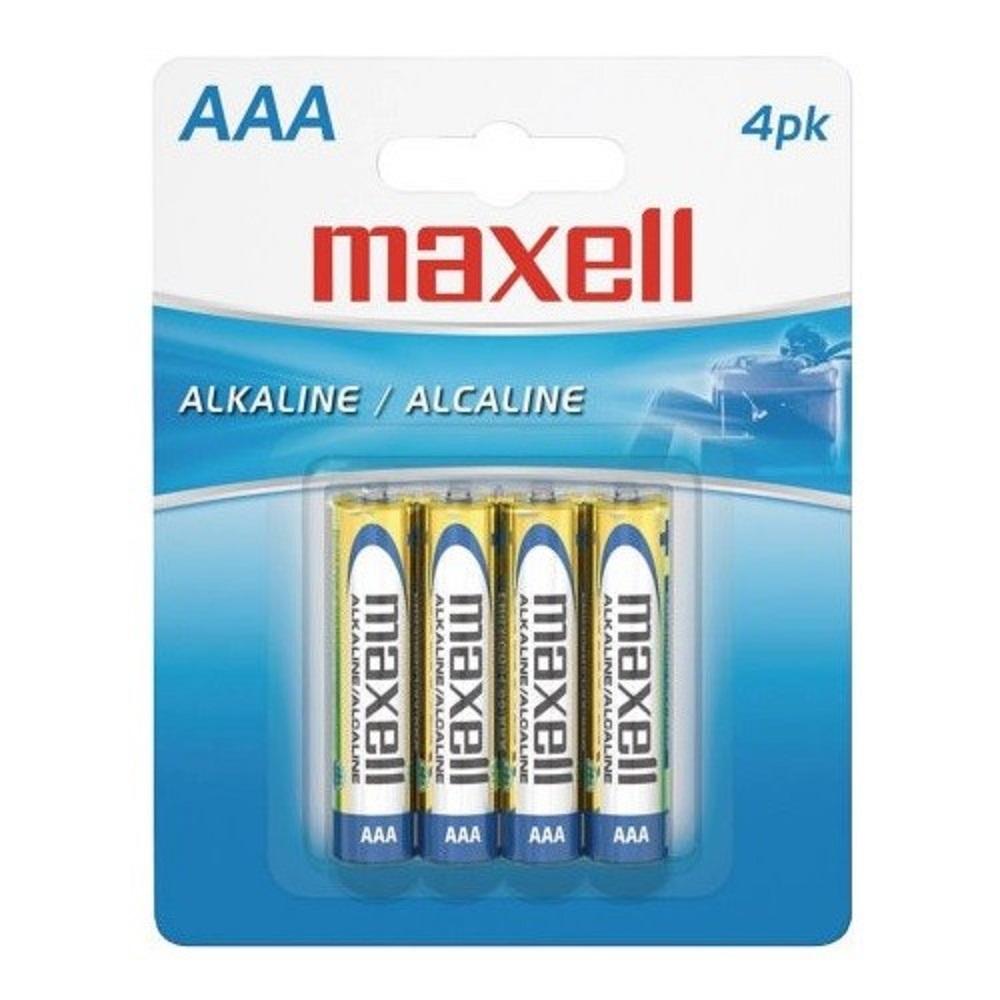 Maxell 4pk AAA Batteries