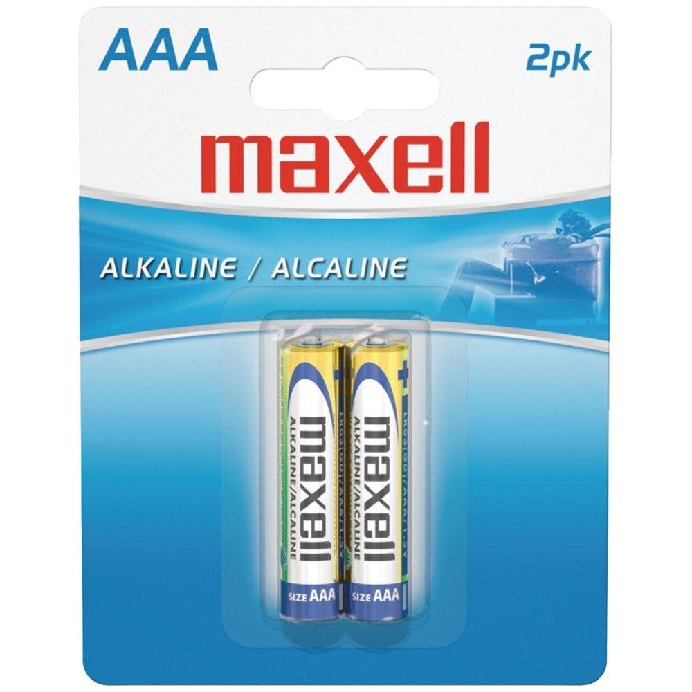 Maxell 2PK AAA Batteries