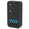 ILUV Rockwall Power 2 Wall Charger Black thumbnail