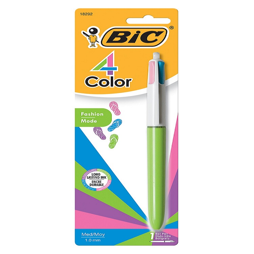 BIC® 4-Color™ Fashion Ball Pen