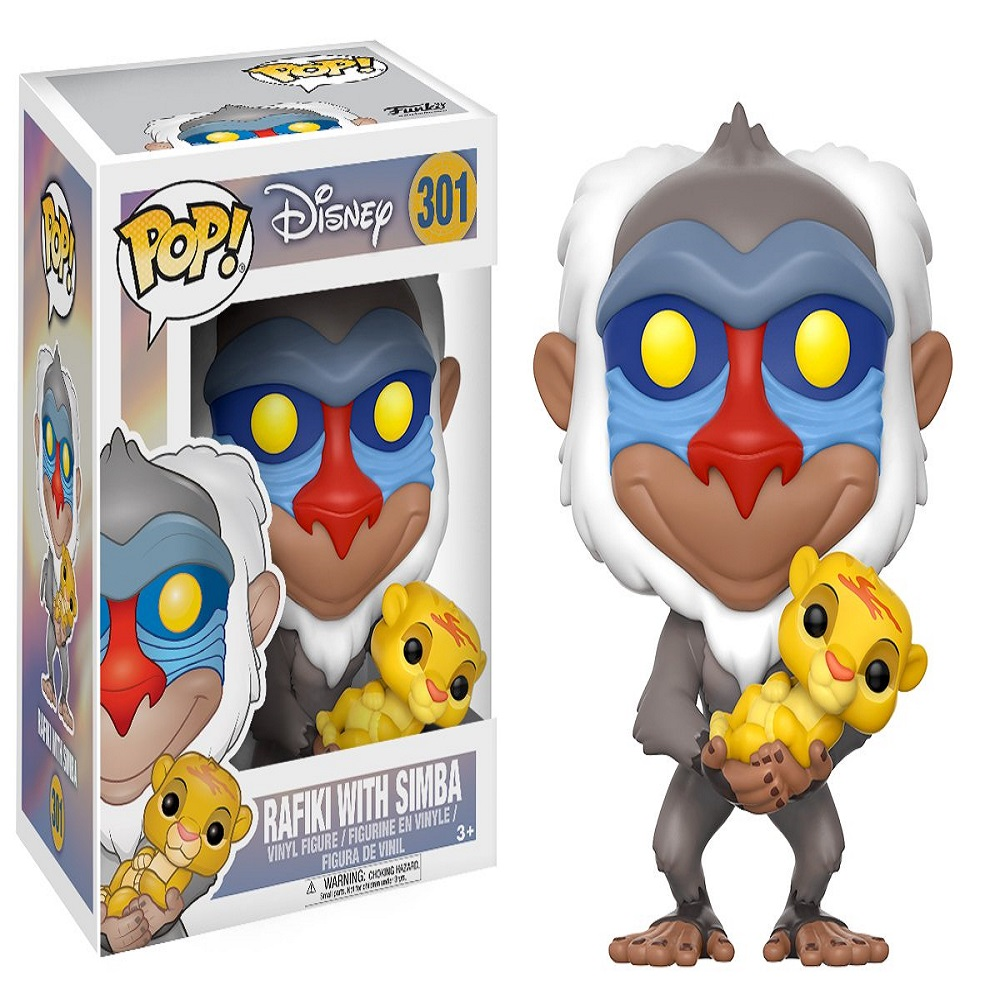 Funko Disney Rafiki with Simba