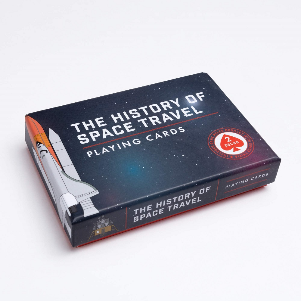 Pop Chart History of Space Playing Cards