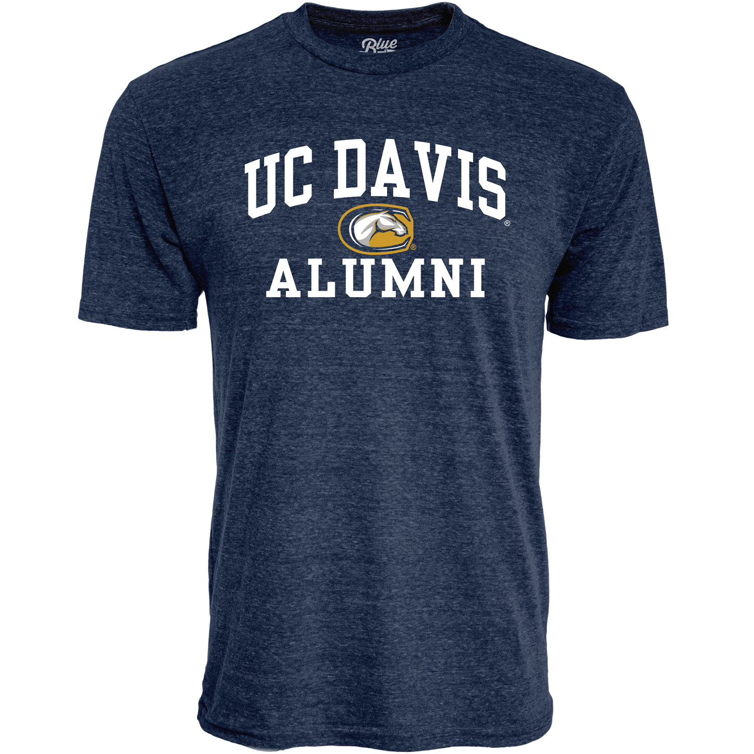 Blue 84 Men's UC Davis Mascot Alumni T-Shirt Navy