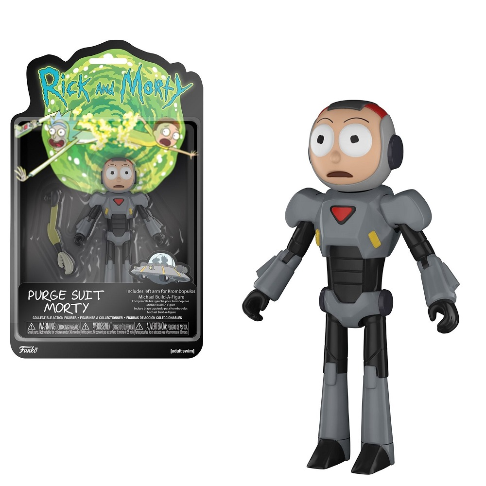 "Funko ""Rick and Morty"" Purge Suit Morty"