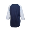 Champion® Women's 3/4 Sleeve UC Davis T-Shirt Navy thumbnail