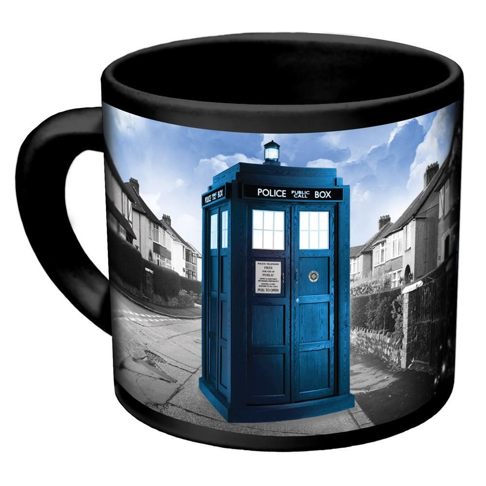 Coffee Mug Dr. Who Disappearing Tardis