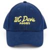UC Davis Hat Navy Script thumbnail