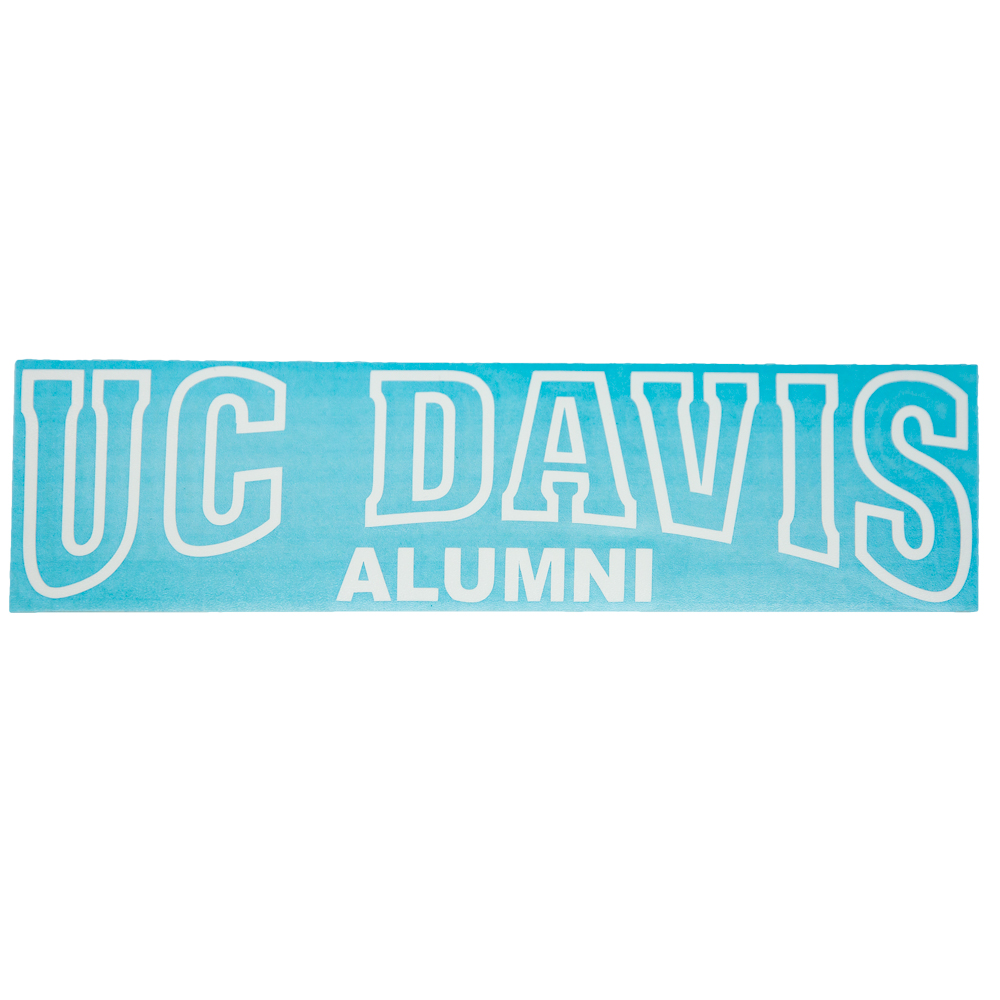 Decal UC Davis Alumni