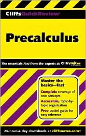Cliffs Quick Review Series Precalculus