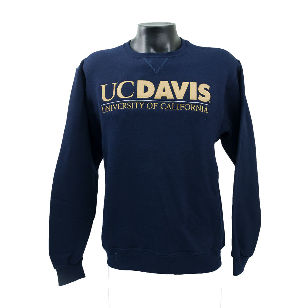 Russell Athletic UC Davis Crew Extended Logo Navy