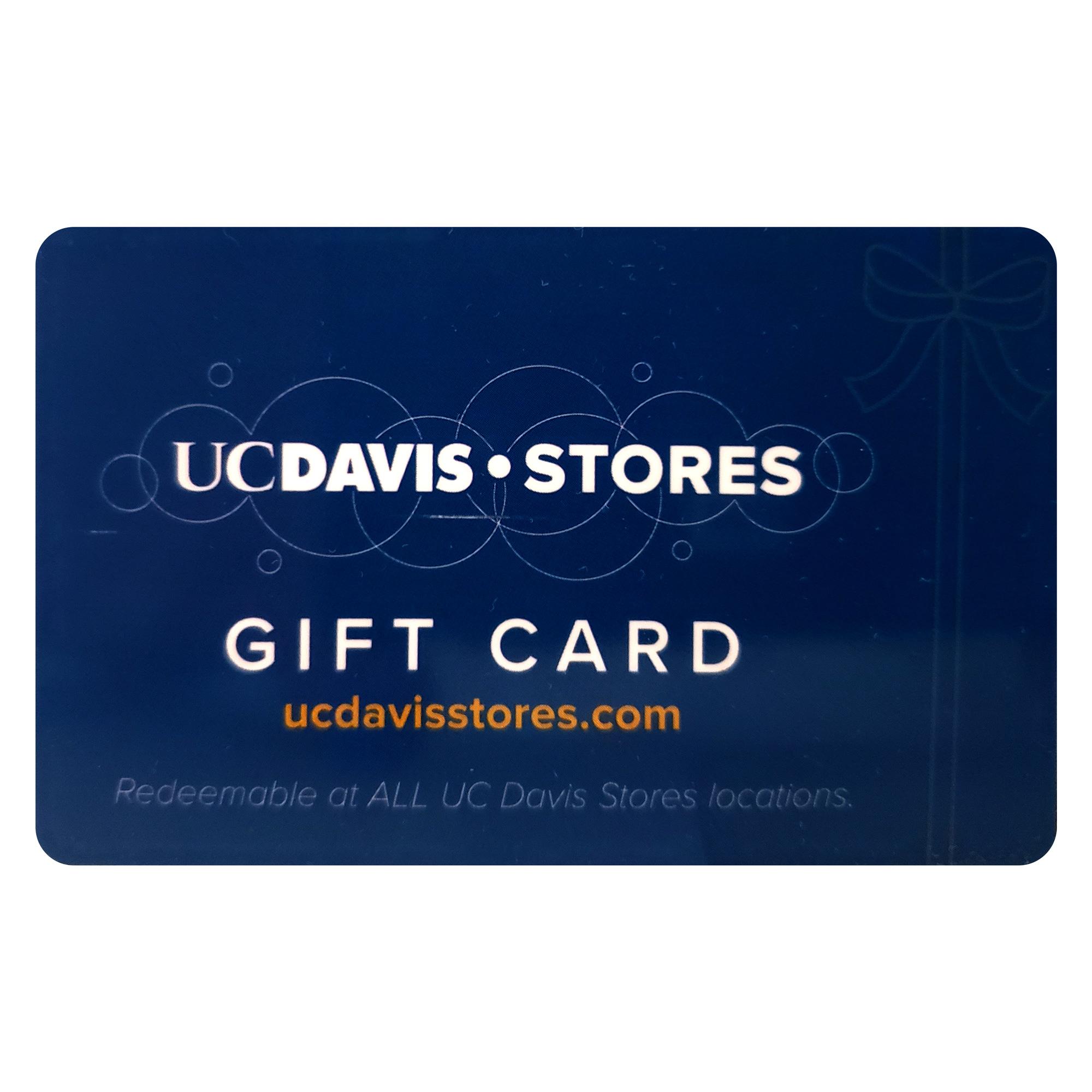 UC Davis Stores Gift Card