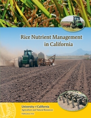Rice Nutrient Management in California