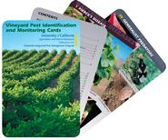 Vineyard Pest Identification and Monitoring Cards