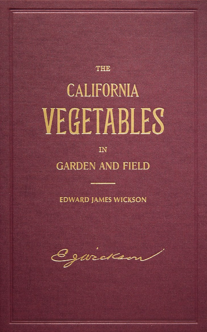 Cover Image For The California Vegetables in Garden and Field