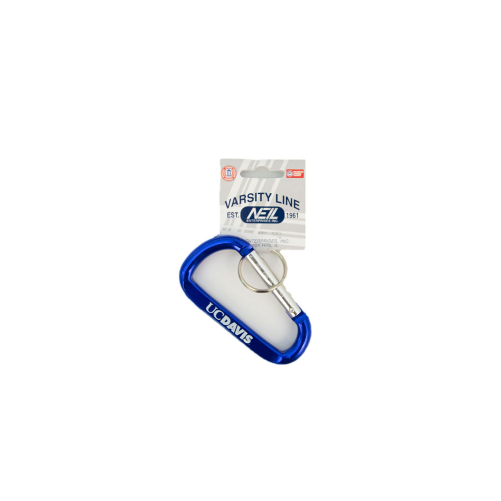 Image For Key Tag Carabiner UC Davis