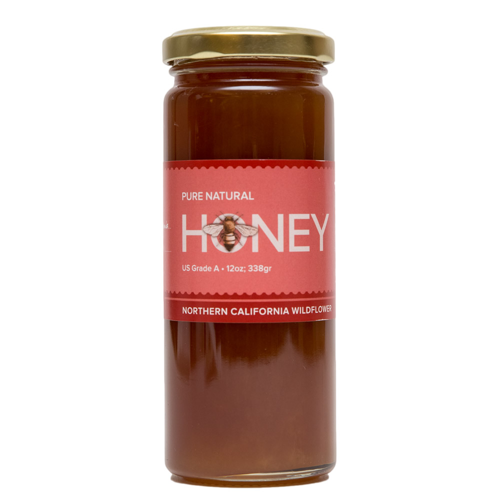 Image For UC Davis Honey Wildflower (9 oz)
