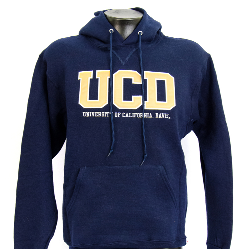 Image For Blue84 UC Davis Hood UCD Navy