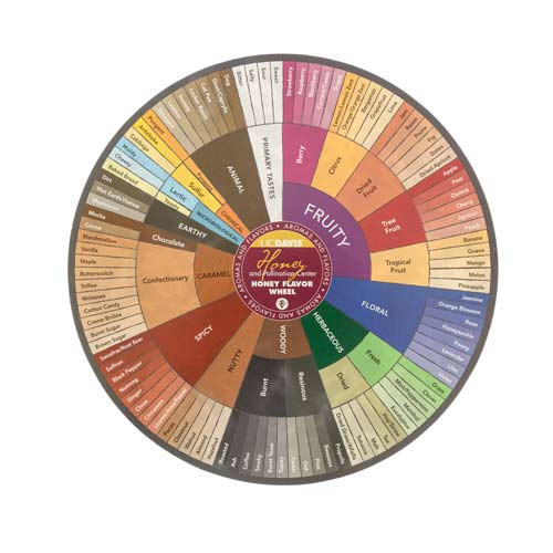 Cover Image For Honey Flavor Wheel