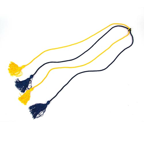 Image For UC Davis Honors Level Navy/Gold Cord