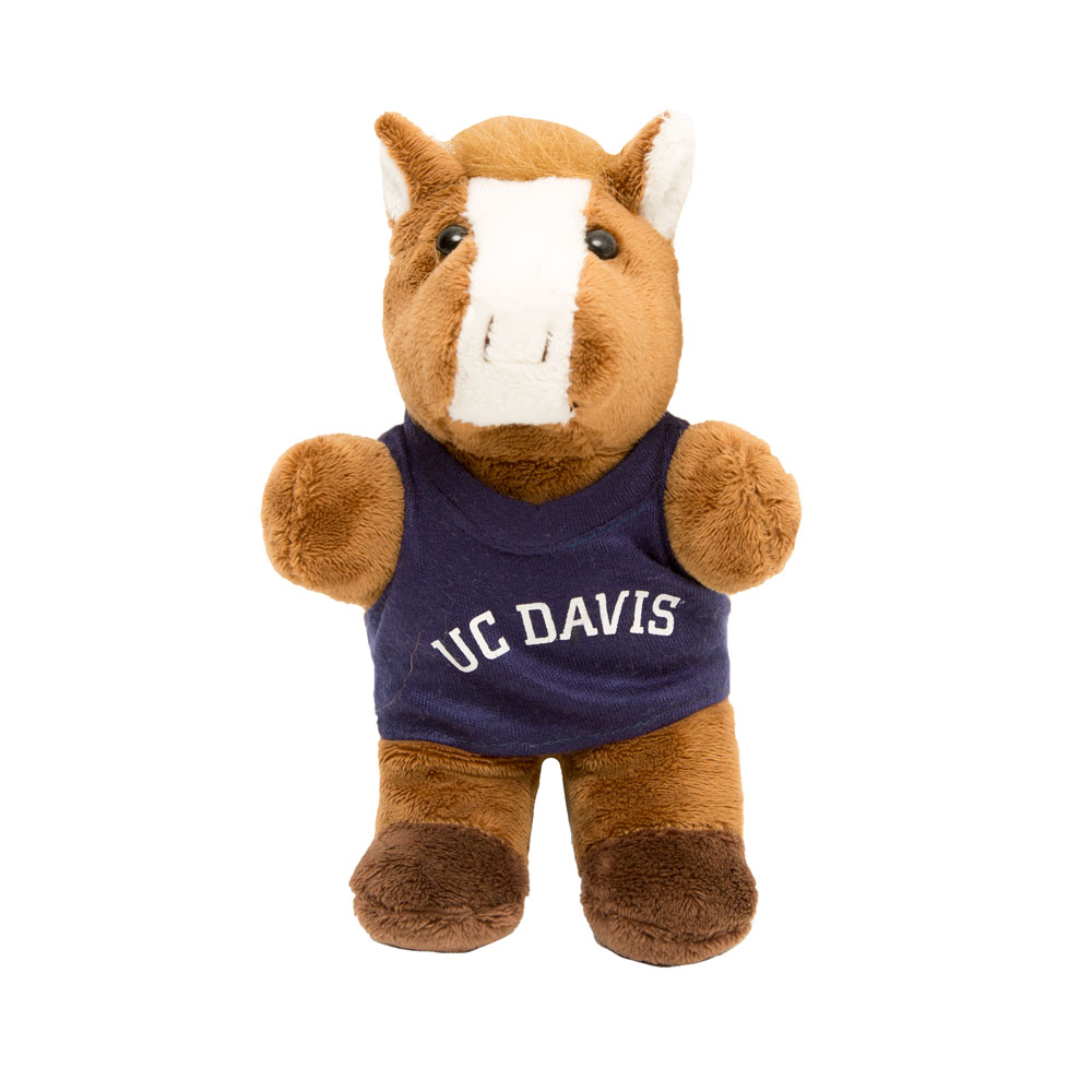 "Cover Image For 7"" Bean Bag Pony Plush UC DAVIS"