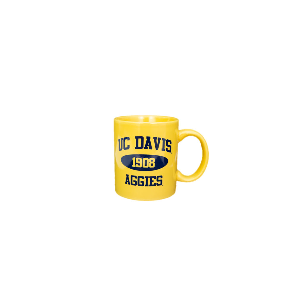 Image For Mug UC Davis 1908 Aggies Yellow