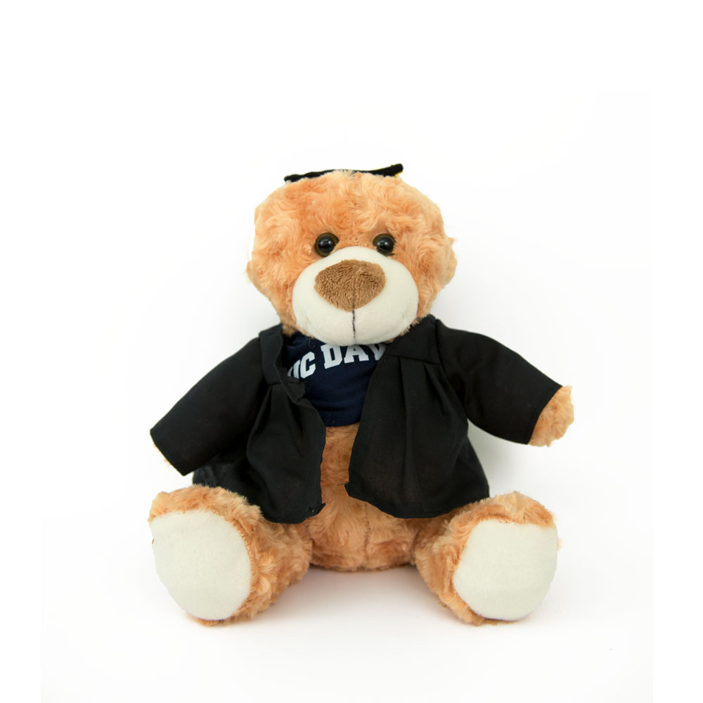 Image For Plush Bear Cap & Gown