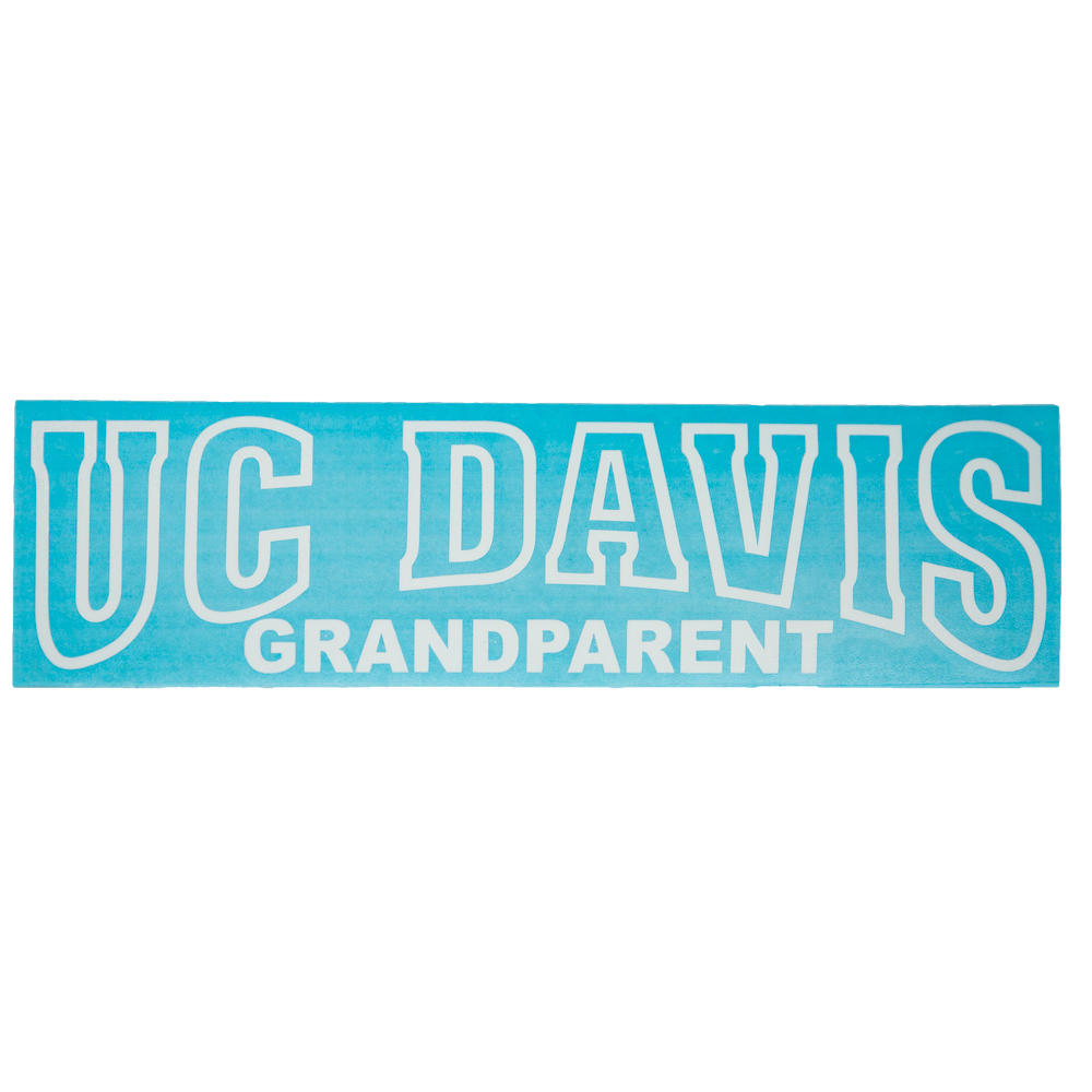 Image For Decal UC Davis Grandparent