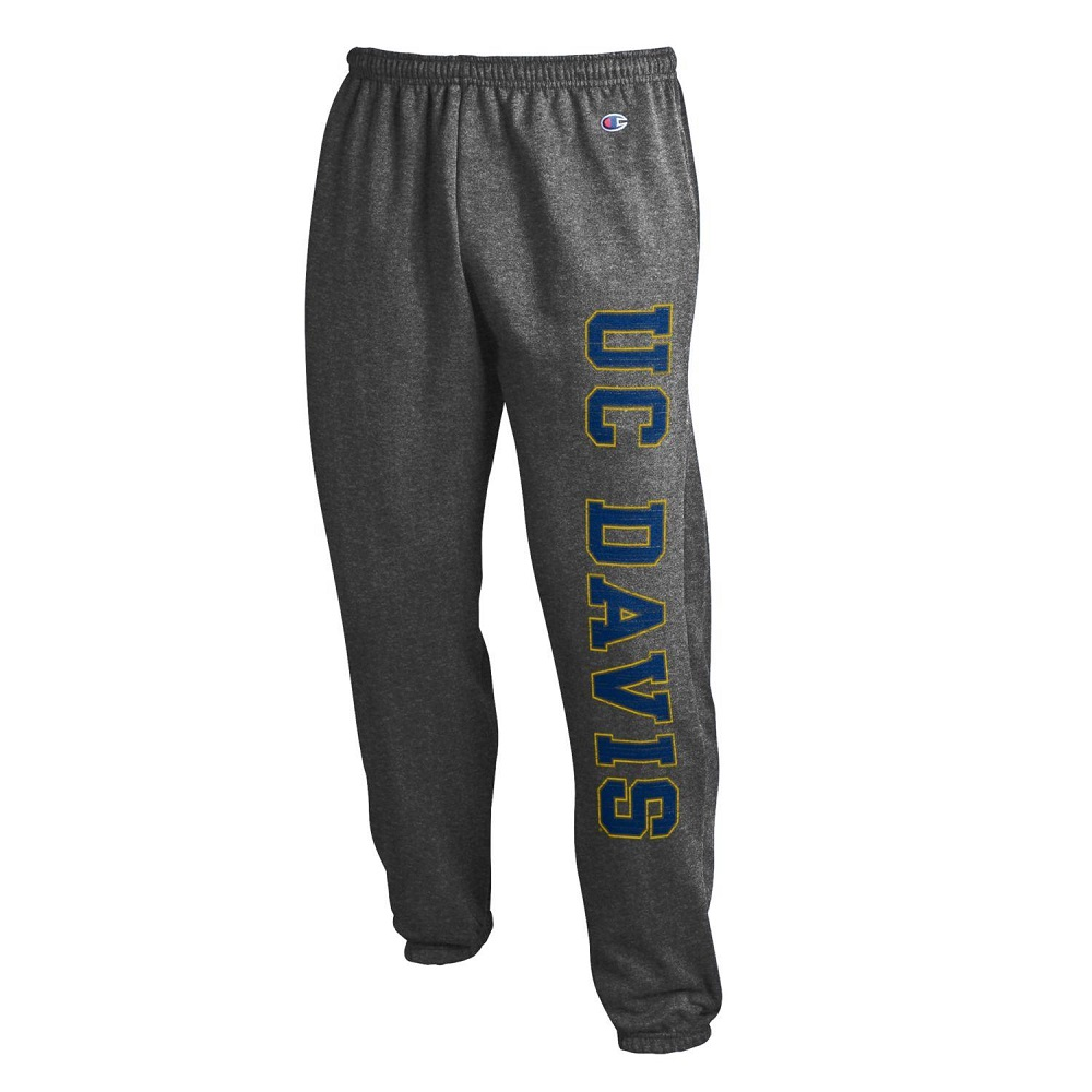Image For Champion® UC Davis Sweatpants Graphite