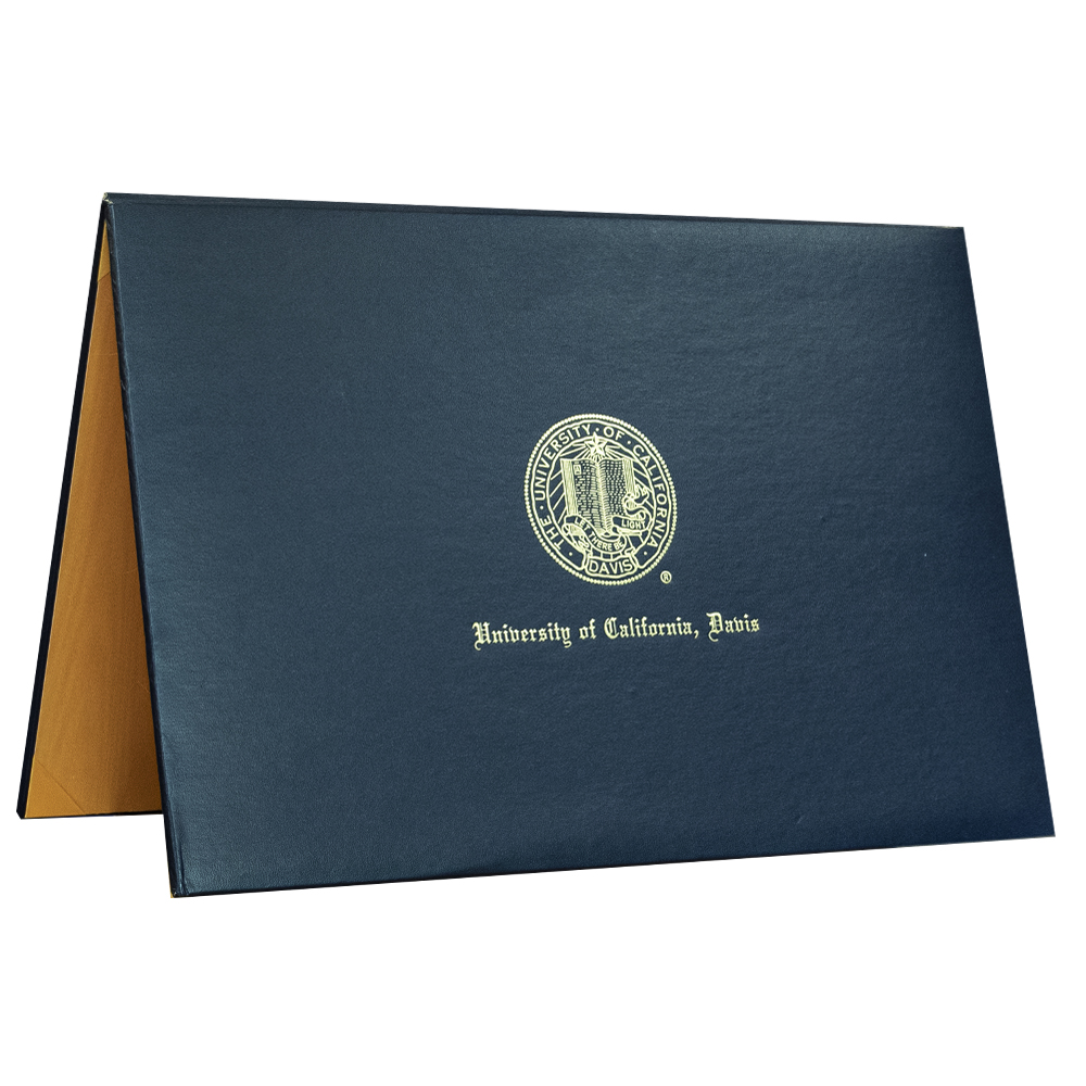 Cover Image For UC Davis Padded 11x17 Diploma Cover