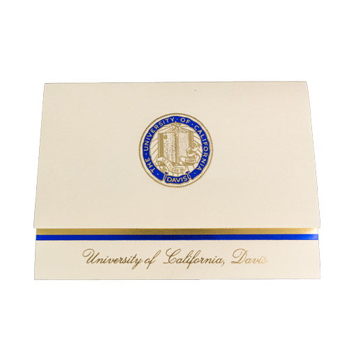 Image For UC Davis Graduation Announcement Cards