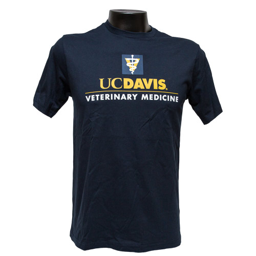 Image For UC Davis Veterinary Medicine Tee Navy