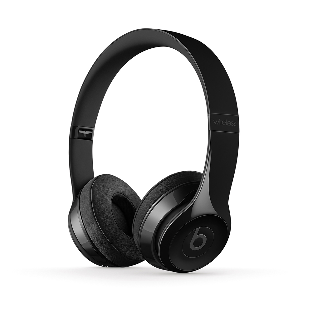 Cover Image For Beats Solo3 Wireless On-Ear Headphone - Gloss Black