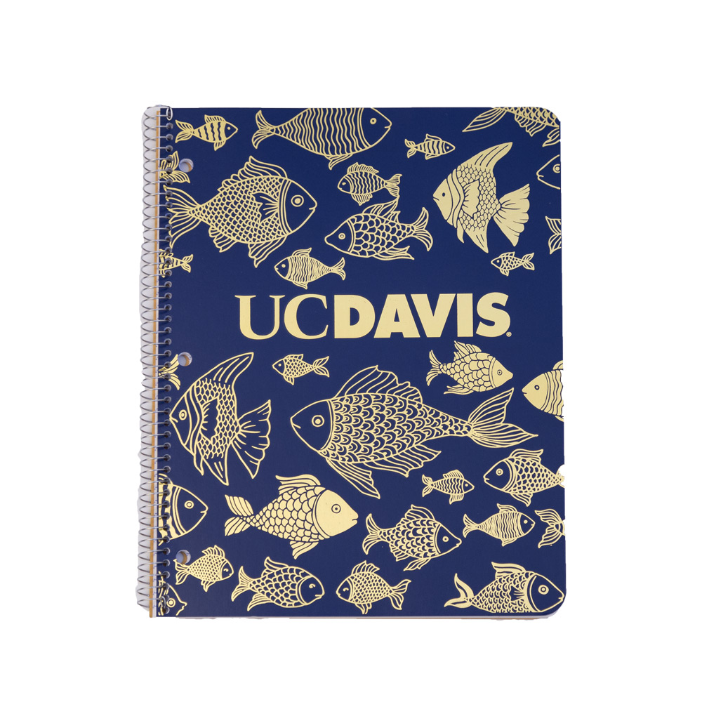 Image For Ampad® 1 Subject UC Davis Notebook Fishes